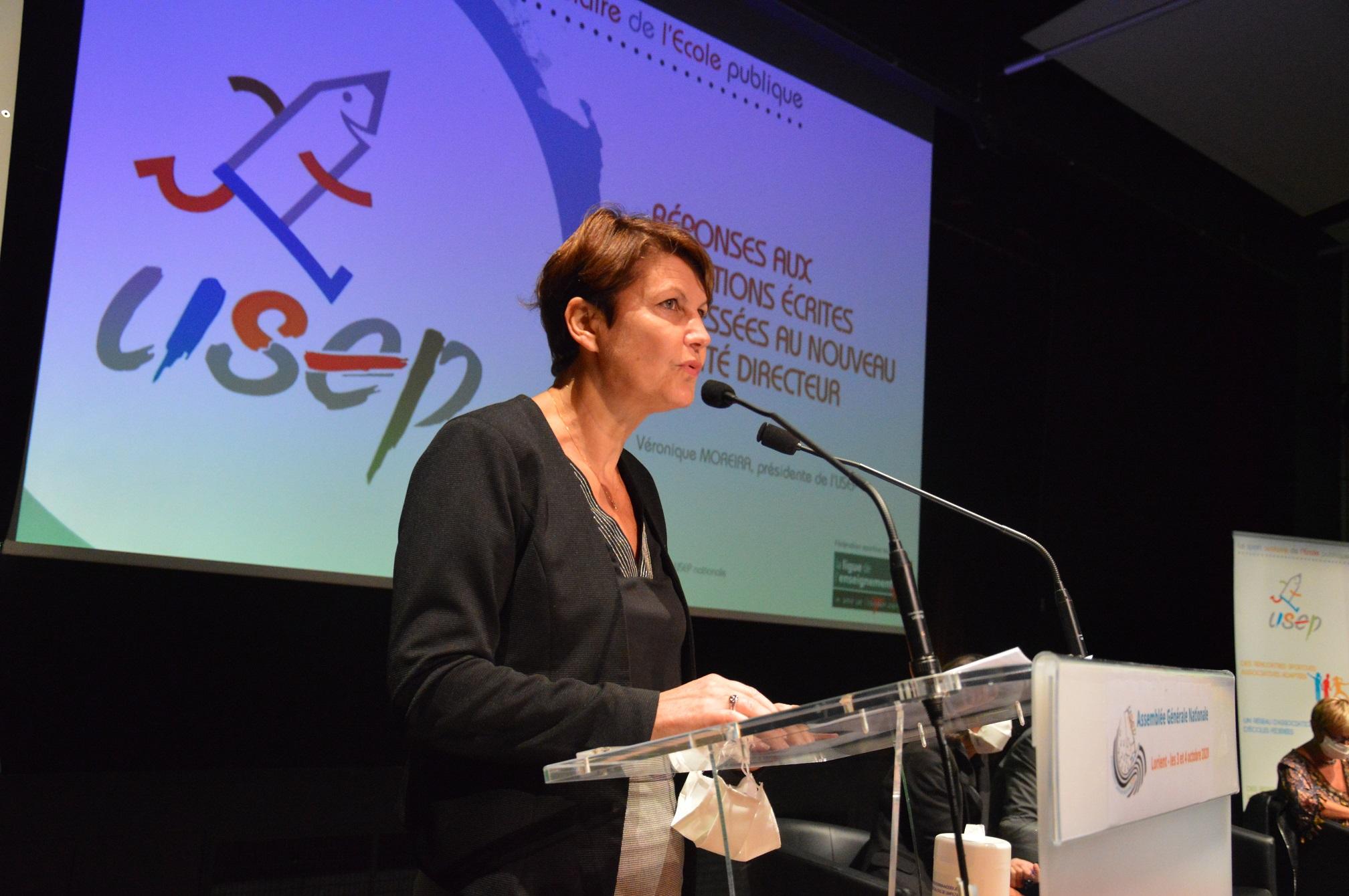 Véronique Moreira réélue présidente de l'Usep